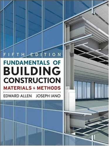 Fundamentals of Building Construction: Materials and Methods 9780470074688