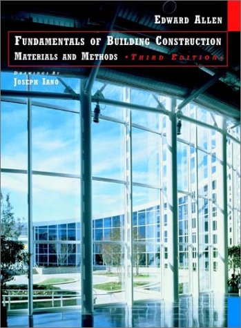 Fundamentals of Building Construction: Materials and Methods 9780471183495