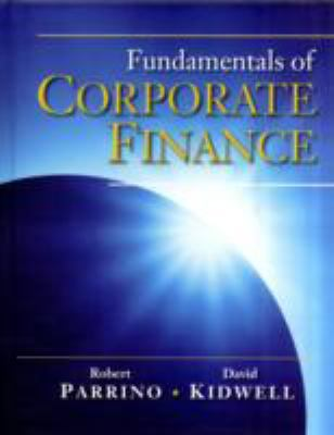 Fundamentals of Corporate Finance 9780471270560