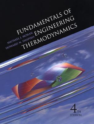 Fundamentals of Engineering Thermodynamics 9780471317135