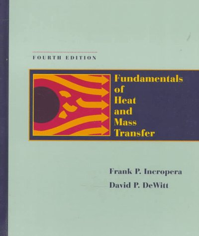 Fundamentals of Heat and Mass Transfer 9780471304609