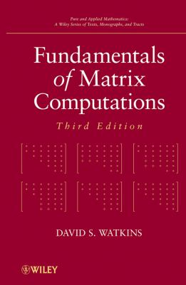 Fundamentals of Matrix Computations 9780470528334
