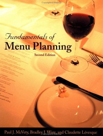 Fundamentals of Menu Planning 9780471369479