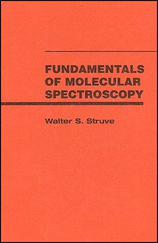 Fundamentals of Molecular Spectroscopy 9780471854241