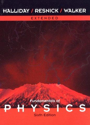 Fundamentals of Physics, a Student's Companion E-Book to Accompany Fundamentals of Physics 9780471332367