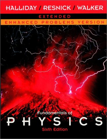 Fundamentals of Physics, a Student's Companion E-Book to Accompany Fundamentals of Physics, Enhanced Problems Version 9780471228622