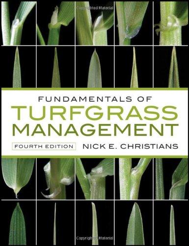 Fundamentals of Turfgrass Management 9780470587317