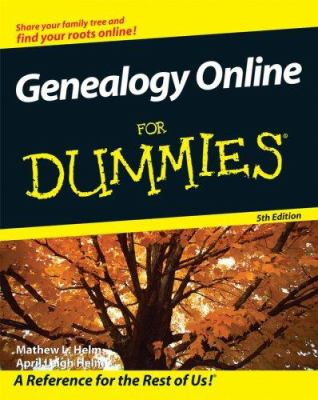 Genealogy Online for Dummies [With CDROM] 9780470240571