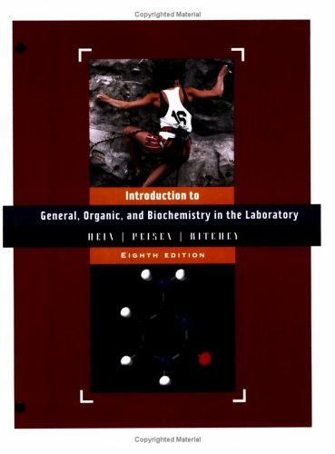 General, Organic & Biochemistry in the Laboratory, Introduction to 9780471451945