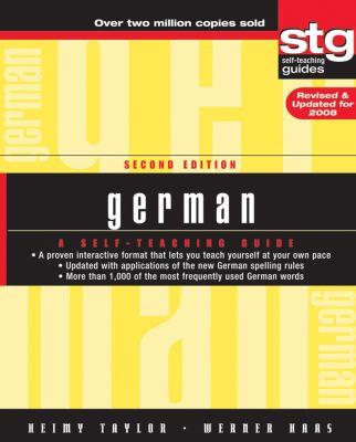 German: A Self-Teaching Guide 9780470165515