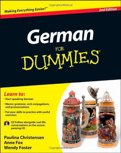 German for Dummies [With CD (Audio)] 9780470901014