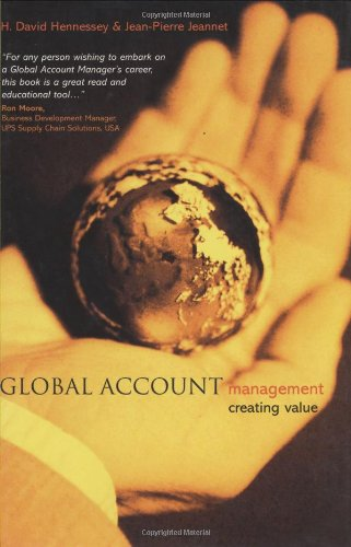 Global Account Management: Creating Value 9780470848920