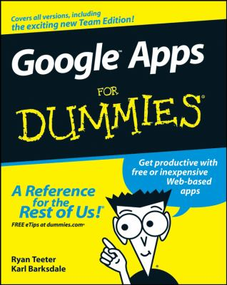 Google Apps for Dummies 9780470189580