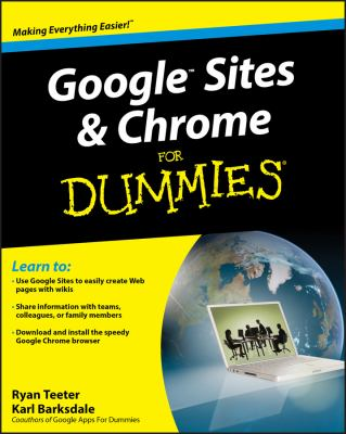 Google Sites & Chrome for Dummies 9780470396780