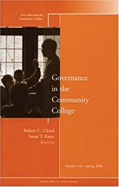 Governance in the Community College 9780470321348