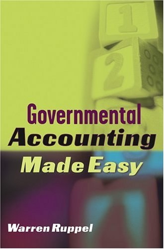 Governmental Accounting Made Easy 9780471648680