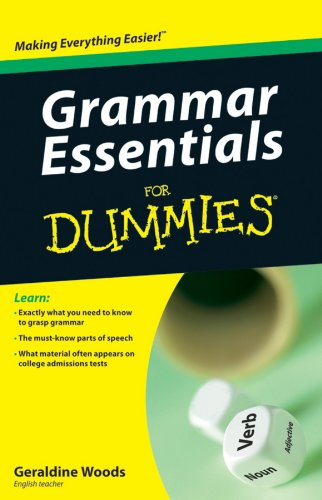 Grammar Essentials for Dummies 9780470618370