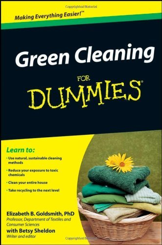 Green Cleaning for Dummies 9780470391068