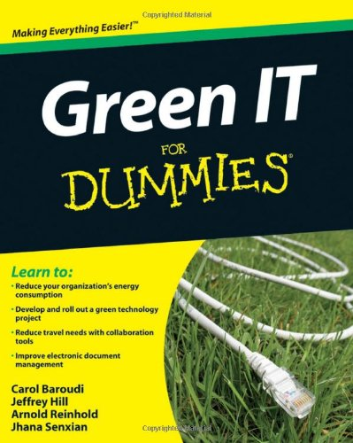 Green IT for Dummies 9780470386880