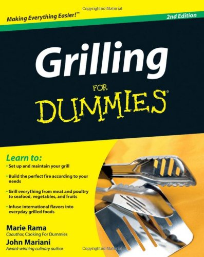Grilling for Dummies 9780470421291