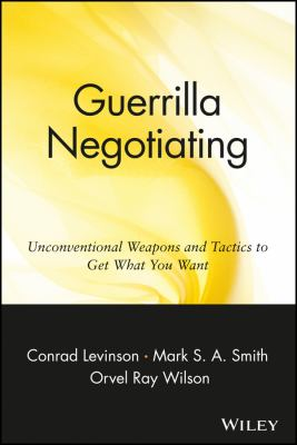 Guerrilla Negotiation 9780471330219