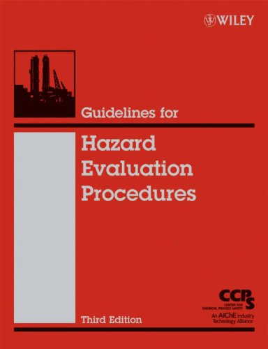 Guidelines for Hazard Evaluation Procedures 9780471978152