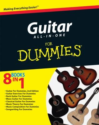Guitar All-In-One for Dummies [With CD (Audio)] 9780470481332