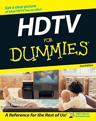 HDTV for Dummies 9780470096734