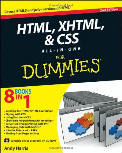 HTML, XHTML & CSS All-In-One for Dummies 9780470537558