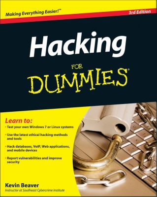 Hacking for Dummies 9780470550939