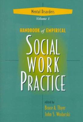 Handbook of Empirical Social Work Practice, Mental Disorders 9780471153610
