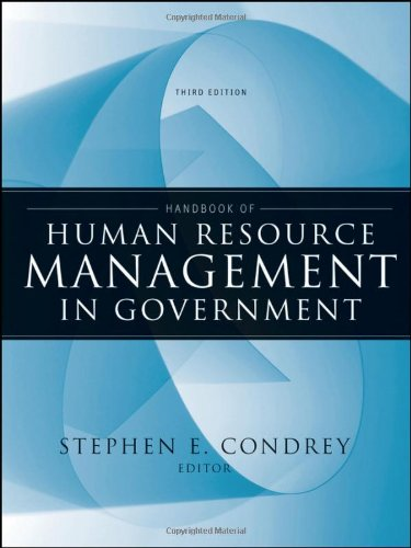 Handbook of Human Resource Management in Government 9780470484043