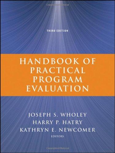 Handbook of Practical Program Evaluation 9780470522479