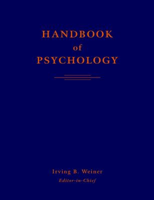 Handbook of Psychology 9780471176695