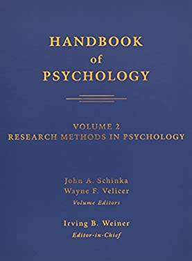 Handbook of Psychology, Volume 2: Research Methods in Psychology