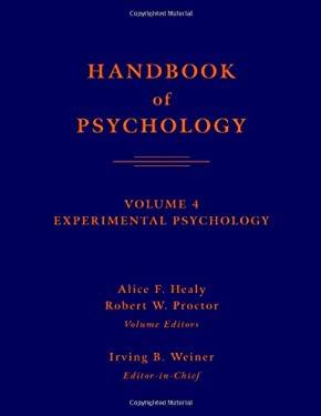 Handbook of Psychology, Volume 4: Experimental Psychology 9780471392620
