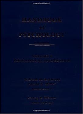 Handbook of Psychology, Volume 7: Educational Psychology 9780471384069