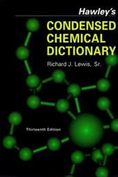 Hawley's Condensed Chemical Dictionary 1552558