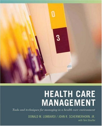 Health Care Management 9780471790785