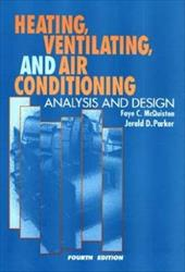 Heating, Ventilating, and Air Conditioning: Analysis and Design 1565180