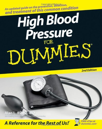 High Blood Pressure for Dummies 9780470137512