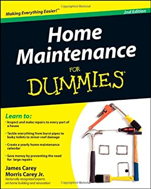 Home Maintenance for Dummies 9780470430637