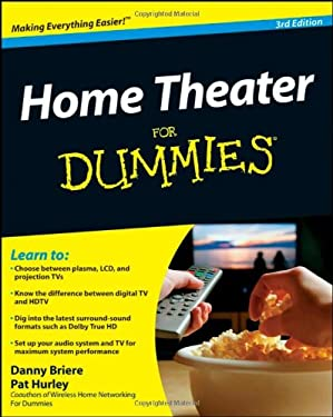 Home Theater for Dummies 9780470411896