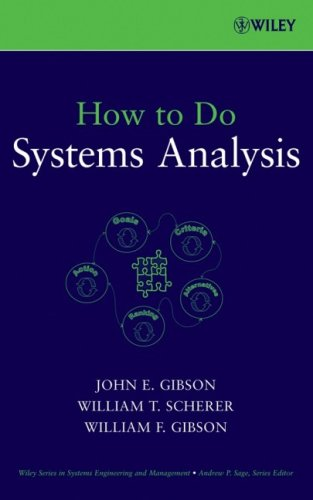 How to Do Systems Analysis 9780470007655