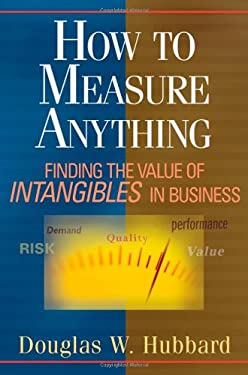 How to Measure Anything: Finding the Value of