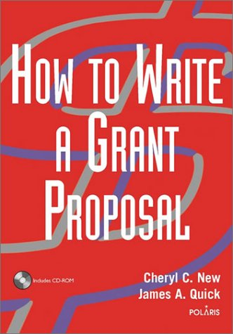 How to Write a Grant Proposal [With CDROM] 9780471212201