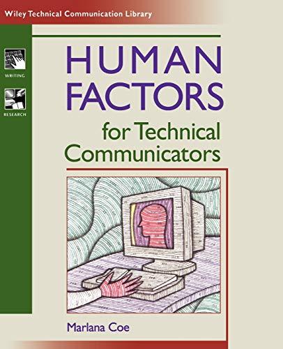 Human Factors for Technical Communicators 9780471035305
