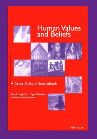 Human Values and Beliefs: A Cross-Cultural Sourcebook 9780472108336