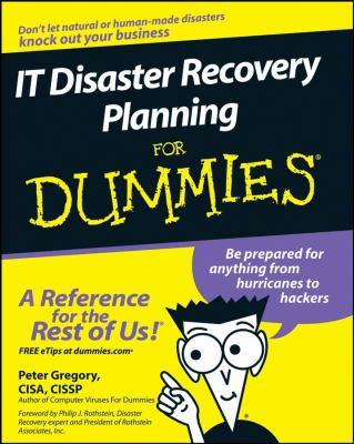 IT Disaster Recovery Planning for Dummies 9780470039731