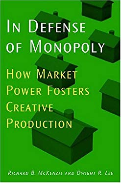 In Defense of Monopoly: How Market Power Fosters Creative Production 9780472116157